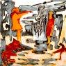 Rosa-Luxemburg-Straße - 2009 - Acryl auf Leinwand - 50 x 50 cm