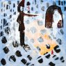 Entkernung - 2010  - - Acryl auf Leinwand - 40 x 40 cm