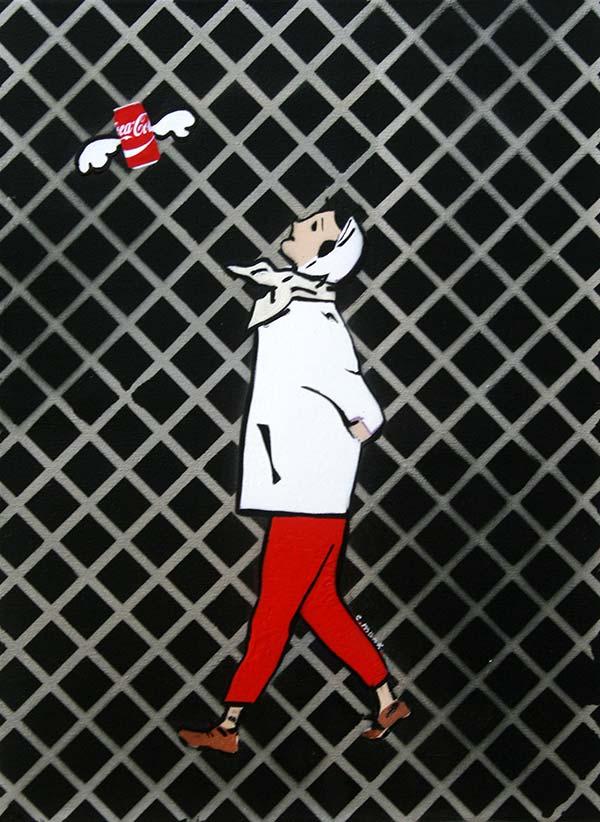 c.mank - Aussichten #60 #Rauten #CocaCola