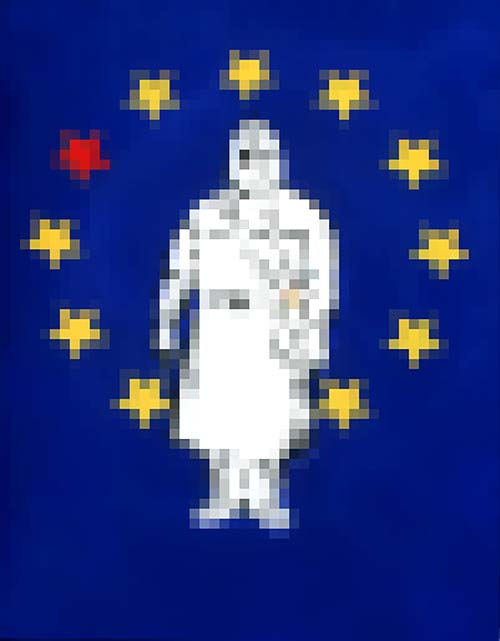 c.mank - Mosaik #1 #EU #Aussensichten | Mosaic #1 #EU #ExteriorViews