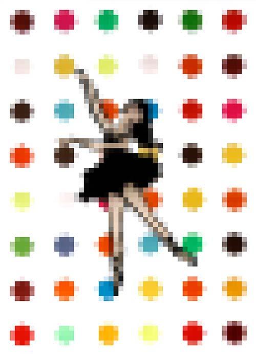 c.mnak - Mosaik #2 #Dancer   Mosaic #2 #Dancer
