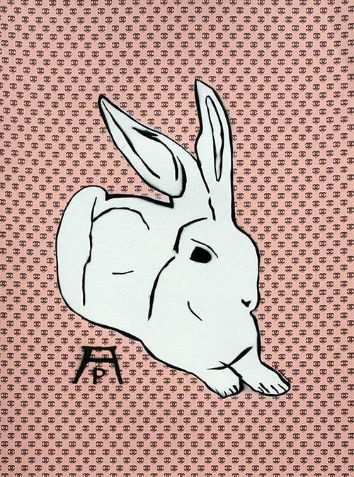 c.mank - Dürer Hase #10 | Dürer Rabbit #10