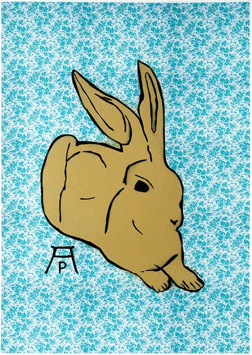 c.mank - Dürer Hase #2 | Dürer Rabbit #2