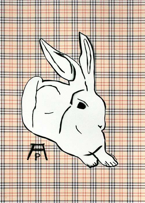 c.mank - Dürer Hase #5 | Dürer Rabbit #5