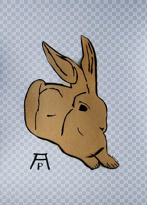 c.mank - Dürer Hase #9 | Dürer Rabbit #9